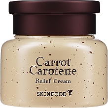 Profumi e cosmetici Crema viso alla carota e carotene - Skinfood Carrot Carotene Relief Cream