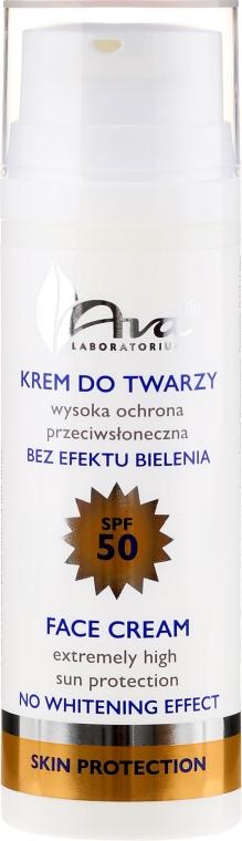 Crema idratante e protettiva - Ava Laboratorium Skin Protection Extra Moisturizing Cream SPF50