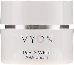 Profumi e cosmetici Crema viso - Vyon Peel and White AHA Cream