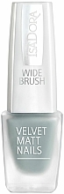 Profumi e cosmetici Smalto unghie opaco - Isadora Velvet Matt Nails