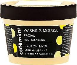 "Mousse detergente ""Pulizia profonda"" - Cafe Mimi Washing Mousse Facial Deep Cleaning — foto N2"