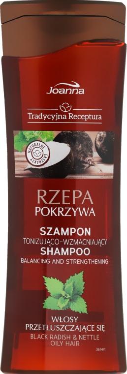 "Shampoo per capelli ""Rapa e ortica"" - Joanna Balancing And Strengthening Shampoo"