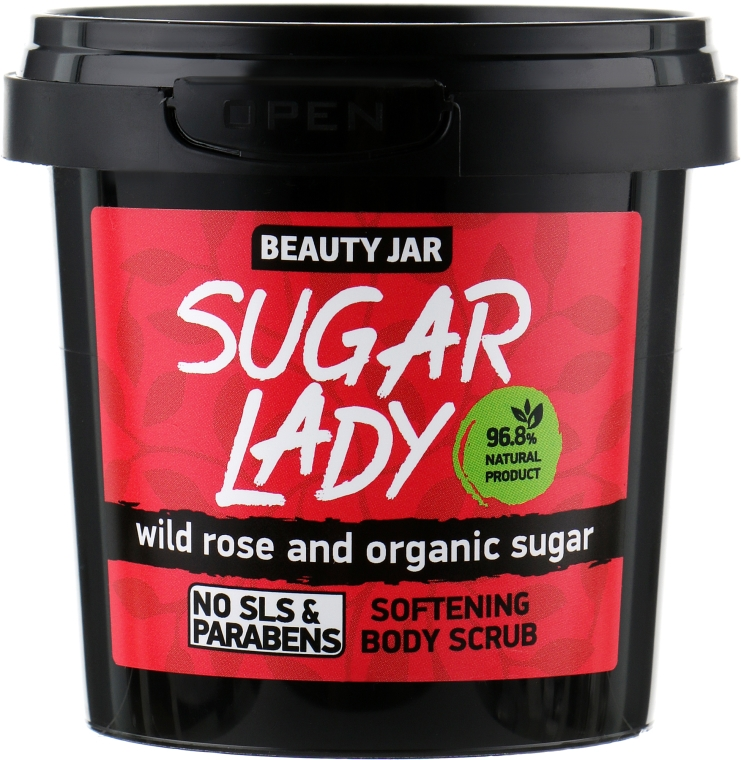 Scrub corpo ammorbidente Sugar Lady - Beauty Jar Softening Body Scrub