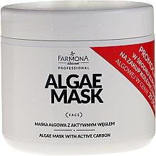 Profumi e cosmetici Maschera alle alghe e carbone attivo - Farmona Professional Algae Mask With Active Carbon