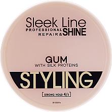 Profumi e cosmetici Gel per capelli - Stapiz Sleek Line Styling Gum With Silk