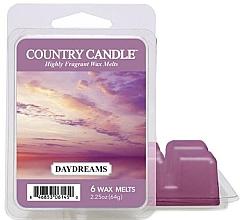 Profumi e cosmetici Cera per lampada aromatica - Country Candle Daydreams Wax Melts