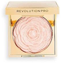 Profumi e cosmetici Illuminante in polvere - Revolution Pro Lustre Highlighter White Rose