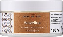 Profumi e cosmetici Vaselina con olio di argan per viso e corpo - Argan My Love