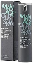 Profumi e cosmetici Siero contorno occhi - Dr. Spiller Manage Your Skin Effective Eye Contour Serum