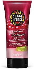 """Profumi e cosmetici Balsamo corpo """"Ciliegia e ribes"""" - Farmona Tutti Frutti Moisturizing Body Balm Cherry & Currant"""