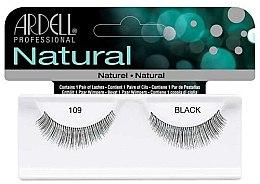 Profumi e cosmetici Ciglia finte a banda - Ardell Natural Lashes Black 109