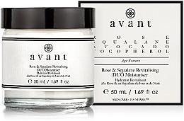 Profumi e cosmetici Crema idratante rivitalizzante - Avant Rose & Squalane Revitalising DUO Moisturiser