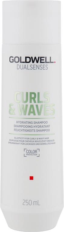 Shampoo per capelli ricci e mossi - Goldwell Dualsenses Curls & Waves Hydrating Shampoo