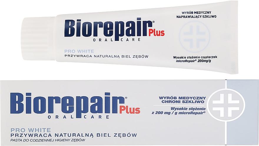 Dentifricio sbiancante - BioRepair Plus PRO White