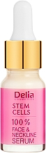 Profumi e cosmetici Siero intensivo anti-rughe per viso e collo con cellule staminali - Delia Face Care Stem Sells Face Neckline Intensive Serum