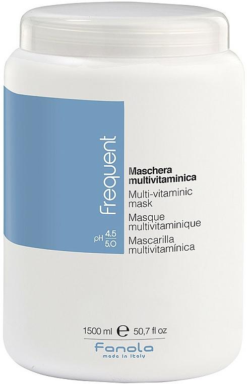 Maschera multivitaminica - Fanola Frequent Multi Vitamin Mask