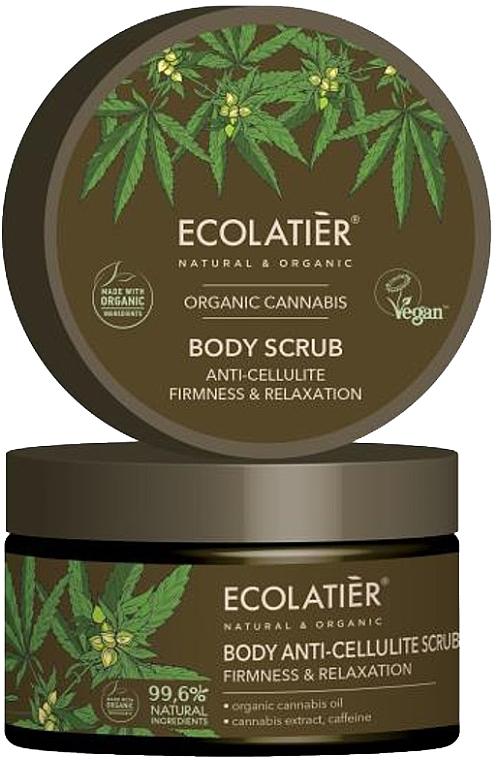 """Scrub corpo """"Elasticità e rilassamento"""" - Ecolatier Organic Cannabis Body Scrub"""