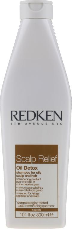 Shampoo per capelli - Redken Scalp Relief Oil Detox Shampoo