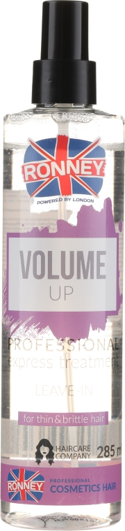 Spray Volume per capelli deboli e sottili - Ronney Volume Up Professional Express Treatment Leave-In