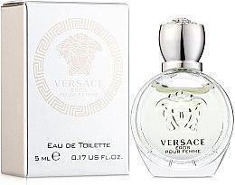 Profumi e cosmetici Versace Eros Pour Femme - Eau de toilette (mini)