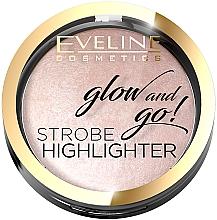 Profumi e cosmetici Illuminante viso - Eveline Cosmetics Glow And Go Strobe Highlighter