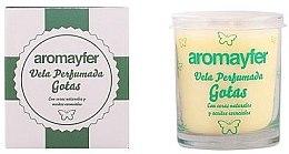 Profumi e cosmetici Candela profumata - Mayfer Perfumes Aromayfer Scented Candle