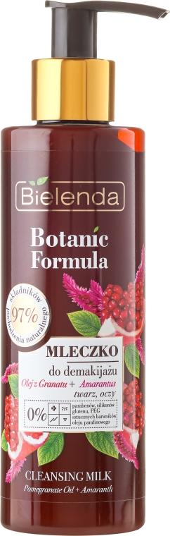 Latte detergente viso - Bielenda Botanic Formula Pomegranate Oil + Amaranth Cleansing Milk