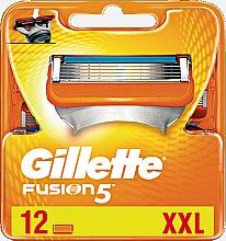 Profumi e cosmetici Lamette sostituibili, 12 pezzi - Gillette Fusion