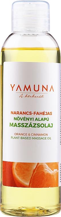 """Olio da massaggio """"Arancia-cannella"""" - Yamuna Orange-Cinnamon Plant Based Massage Oil"""