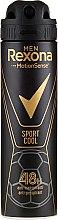 Profumi e cosmetici Deodorante antitraspirante per uomo - Rexona Men MotionSense Sport Cool Anti-perspirant