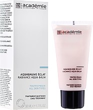 Profumi e cosmetici Balsamo con vitamine per la luminosità della pelle - Academie Radiance Aqua Balm