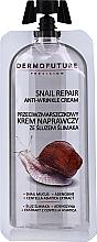 Profumi e cosmetici Crema antirughe alla bava di lumaca - Dermofuture Snail Repair Anti-Wrinkle Cream