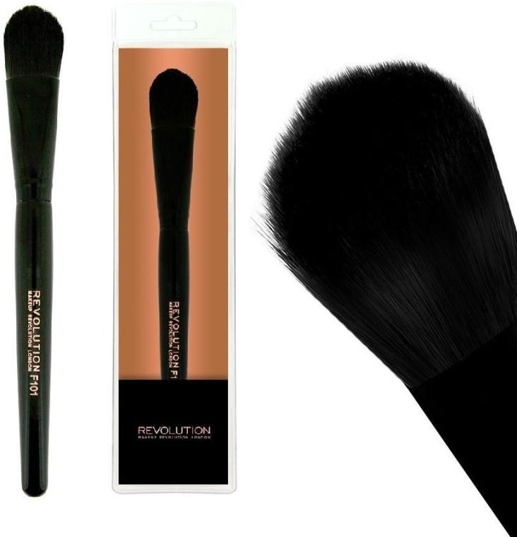 Pennello fondotinta, F101 - Makeup Revolution Foundation Brush — foto N1