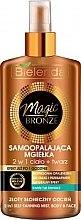Profumi e cosmetici Spray autoabbronzante viso e corpo - Bielenda Magic Bronze