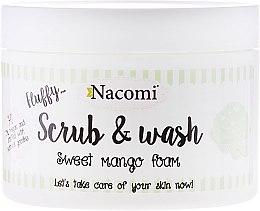 "Profumi e cosmetici Schiuma-peeling ""Mango"" - Nacomi Scrub and Wash Sweet Mango Foam"