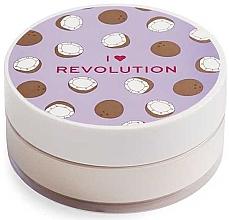 Profumi e cosmetici Cipria al cocco - I Heart Revolution Loose Baking Powder Coconut