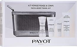 Profumi e cosmetici Set - Payot Face & Body Travel Kit (micel/milk/30ml + cr/15ml + b/scr/8ml + face/foam + bag)