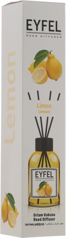 "Aroma diffusore ""Limone"" - Eyfel Perfume Reed Diffuser Lemon"