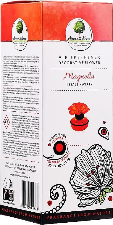"""Deodorante per ambienti, """"Magnolia e fiori bianchi"""" - Aroma & More Air Freshener"""