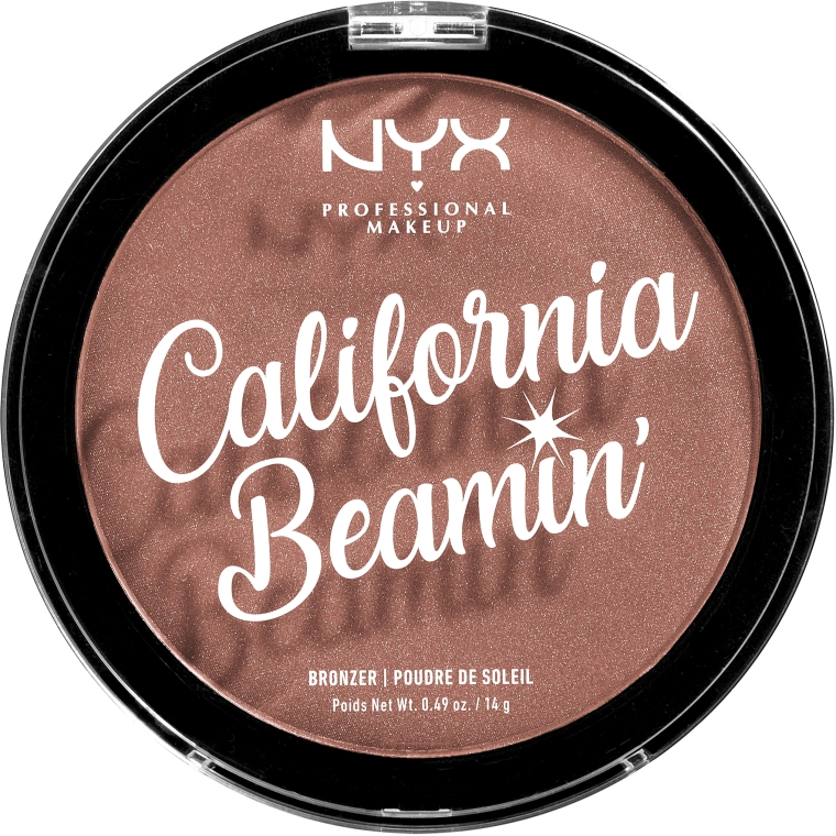 Bronzer viso e corpo - NYX Professional California Beamin Face & Body Bronzer