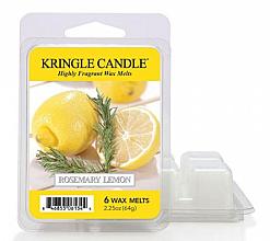 Profumi e cosmetici Cera per lampada aromatica - Kringle Candle Wax Melt Rosemary Lemon