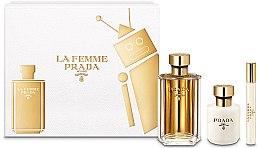 Profumi e cosmetici Prada La Femme Prada - Set (edp/100ml + b/lot/100ml + edp/mini/10ml)