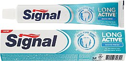 Profumi e cosmetici Dentifricio sbiancante - Signal Long Active White Fresh Toothpaste