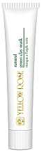 Profumi e cosmetici Maschera all'argilla verde - Yellow Rose Natural Green Clay Mask