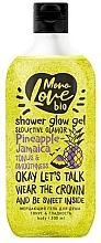 "Profumi e cosmetici Gel doccia ""Tono e levigatezza"" - MonoLove Bio Pineapple-Jamaica Tonus&Smoothness"