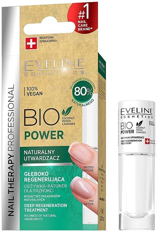 Indurente per unghie - Eveline Cosmetics Nail Therapy Bio Power