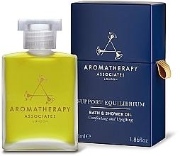 Profumi e cosmetici Olio doccia - Aromatherapy Associates Support Equilibrium Bath & Shower Oil