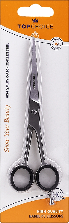 Forbici da parrucchiere, opaco 15.5 / 17 cm, taglia L, 20322 - Top Choice