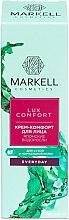 Profumi e cosmetici Crema viso con alghe giapponesi - Markell Cosmetics Lux-Comfort