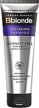 Profumi e cosmetici Shampoo argentate senza solfati per capelli biondi - Jerome Russell Bblonde Silverising Sulphate Free Brightening Shampoo
